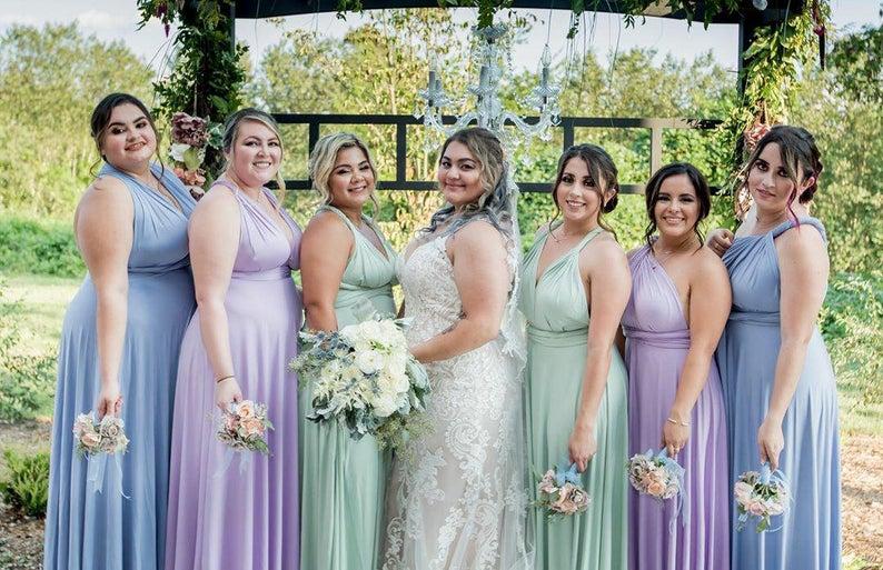 plus-size multiway bridesmaid dresses 6