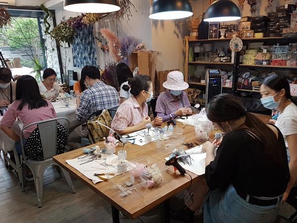 台北花藝教室-海藏設計
