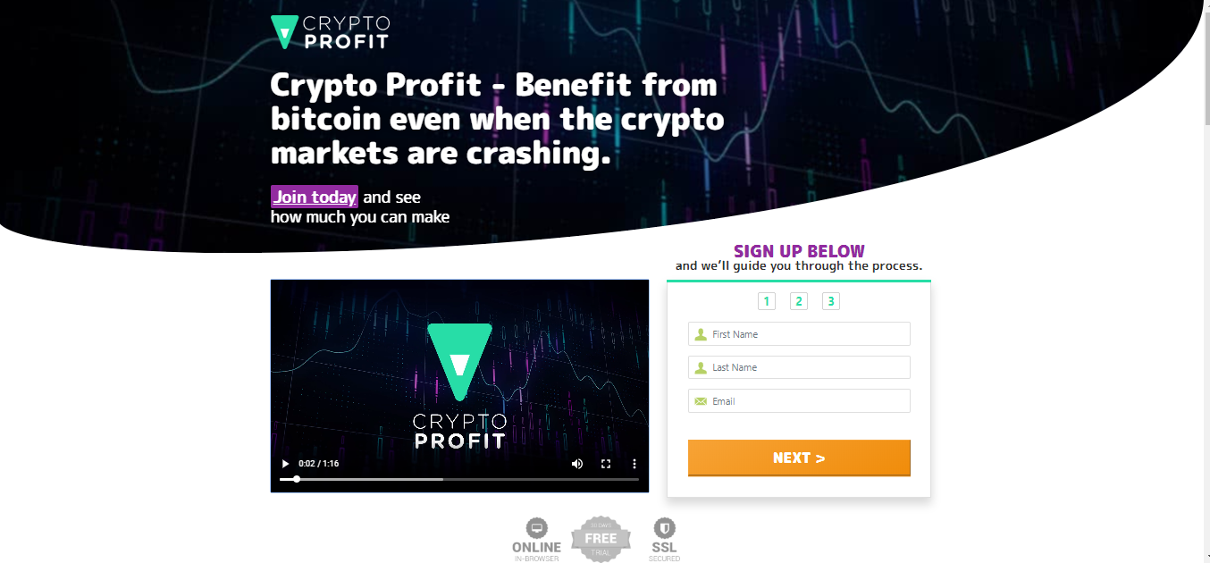 Crypto Profit Website