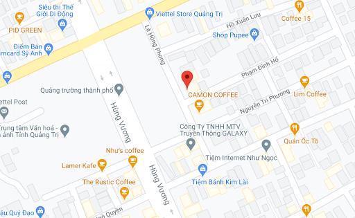 Địa điểm đón/trả khách tại Quảng Trị