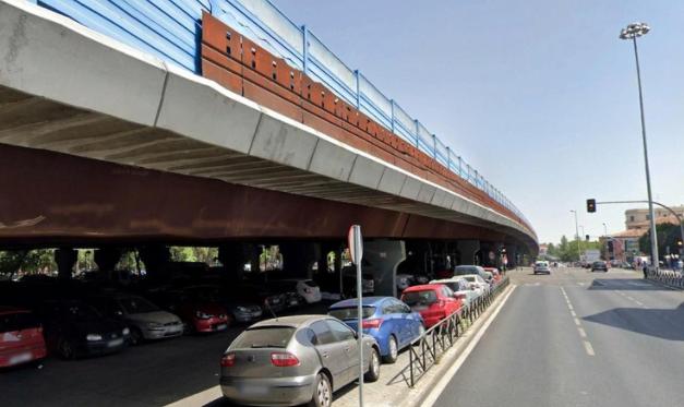 Elevado da autopista M30, de Madri, será transformado em um parque. (Fonte: ArchDaily/Reprodução)