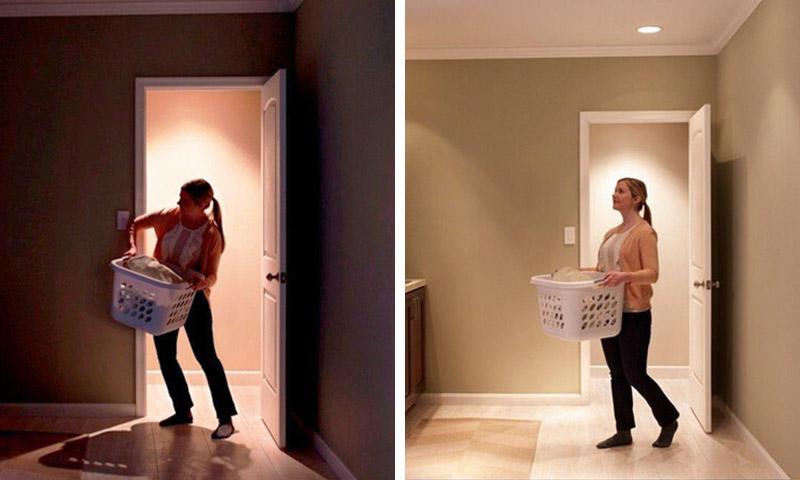 Nhiều gia đình dùng cảm biến chuyển động để tiết kiệm điện