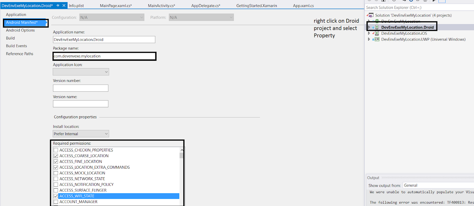 DevEnvExe Com/Xamarin: Generate Google API Key for Xamarin