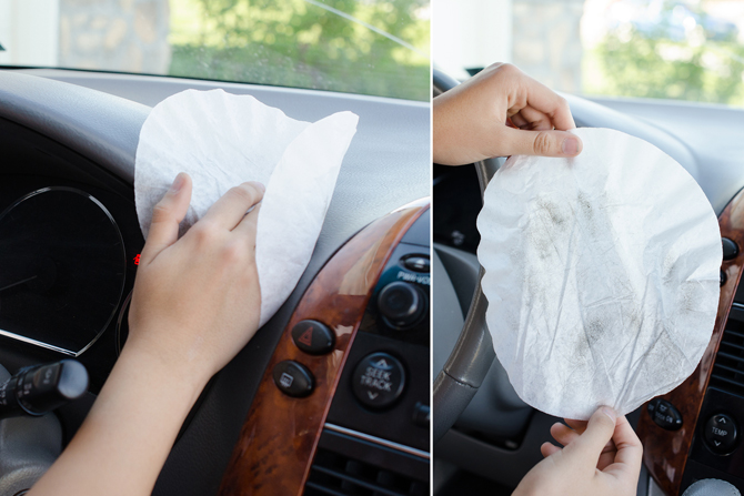 8 Cleaning Hacks For Your Car