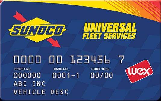 sunoco universal fleet services