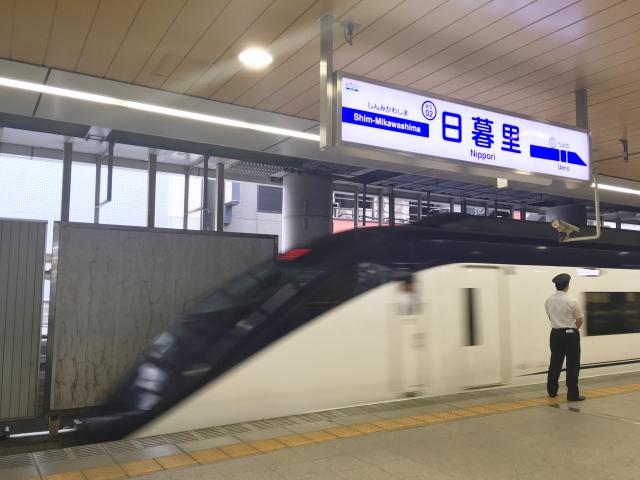 京成スカイライナー_日暮里