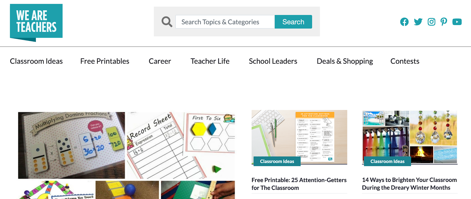WeAreTeachers — Educational Resources for Teachers