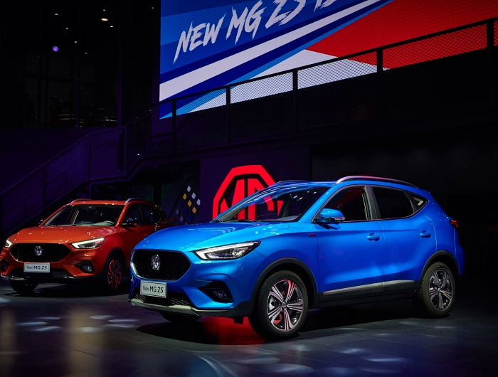 MG ZS ไมเนอร์เชนจ์ อาจมาขายไทยในปีหน้า