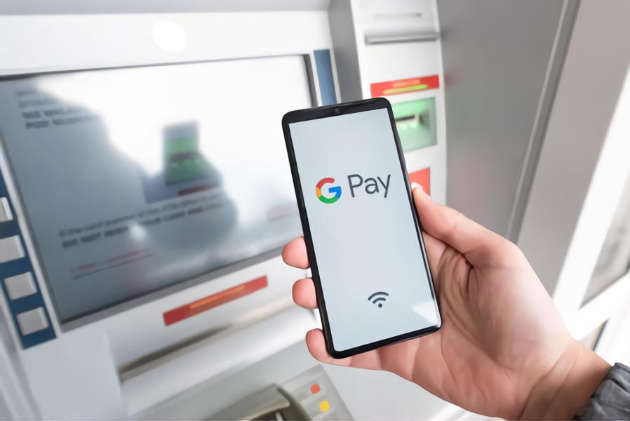 ATM that allow google pay