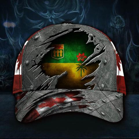 Saskatchewan Province 3D Hat Canadian Trucker Hat Patriots Father's Day Gift