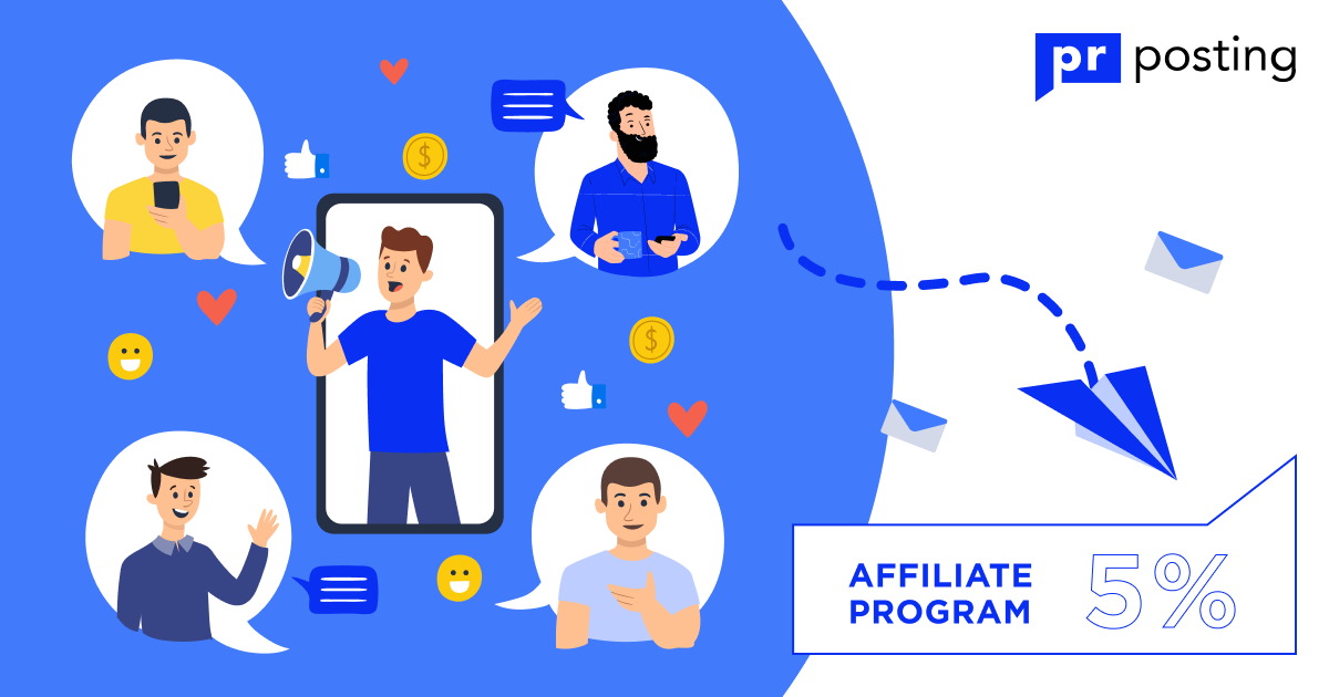How to make money with the PRposting affiliate program?