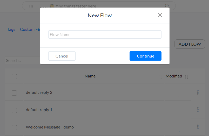 Flow Name