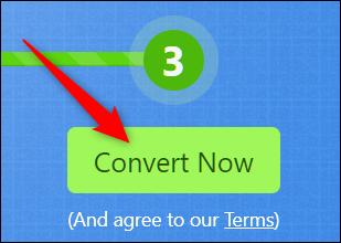 Convert now option