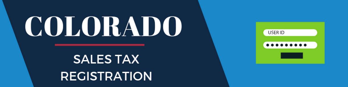 Colorado Sales Tax Registration