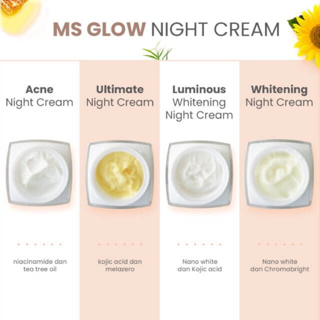MS GLOW Night Cream