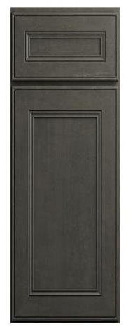 distressed york driftwood grey cabinet door by lily ann cabinets