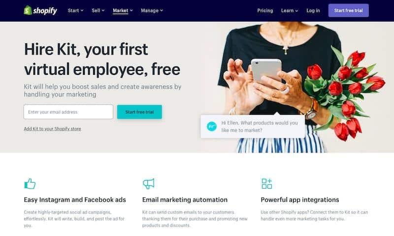 Kit: In-built virtual assistant