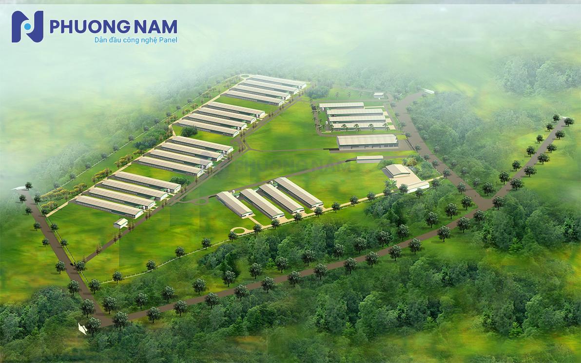 Dự án: Trại gà giống Xuân Phú - NCC Panel Phương Nam