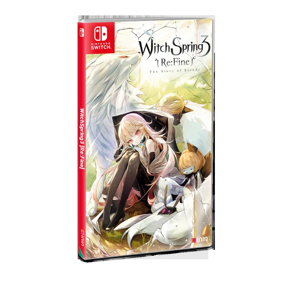 Nintendo Switch physical box art