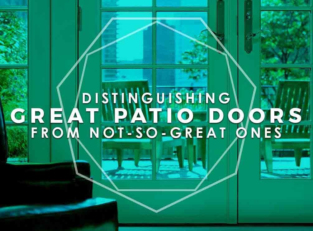 Great Patio Doors