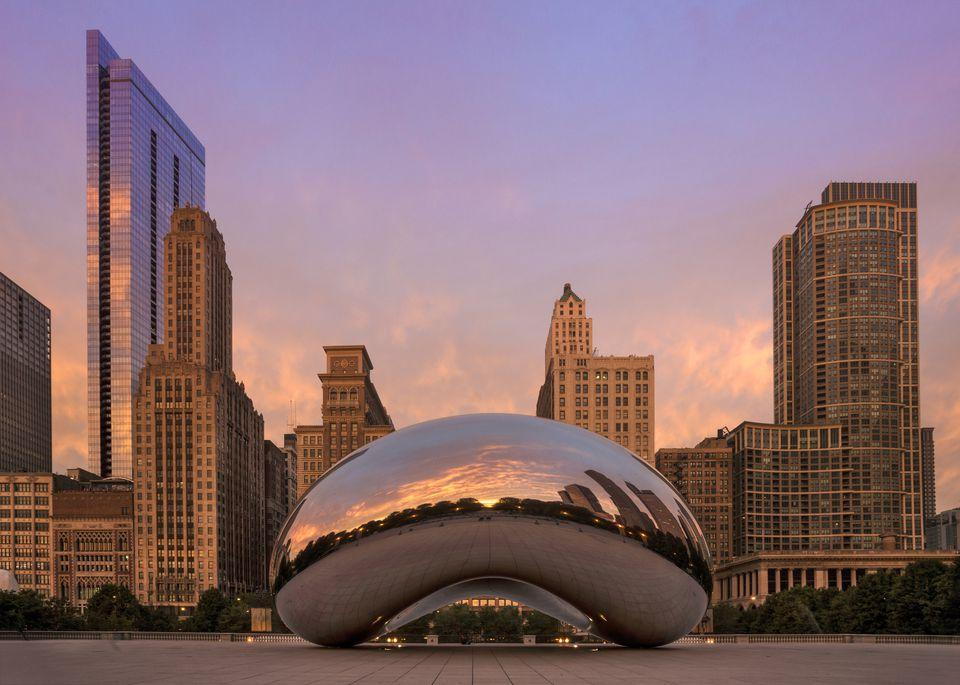 Image result for the bean in chicago
