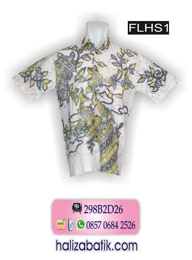 Model Hem Terbaru, Hem Batik, Baju Model Hem, FLHS1
