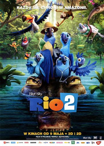 Przód ulotki filmu 'Rio 2'
