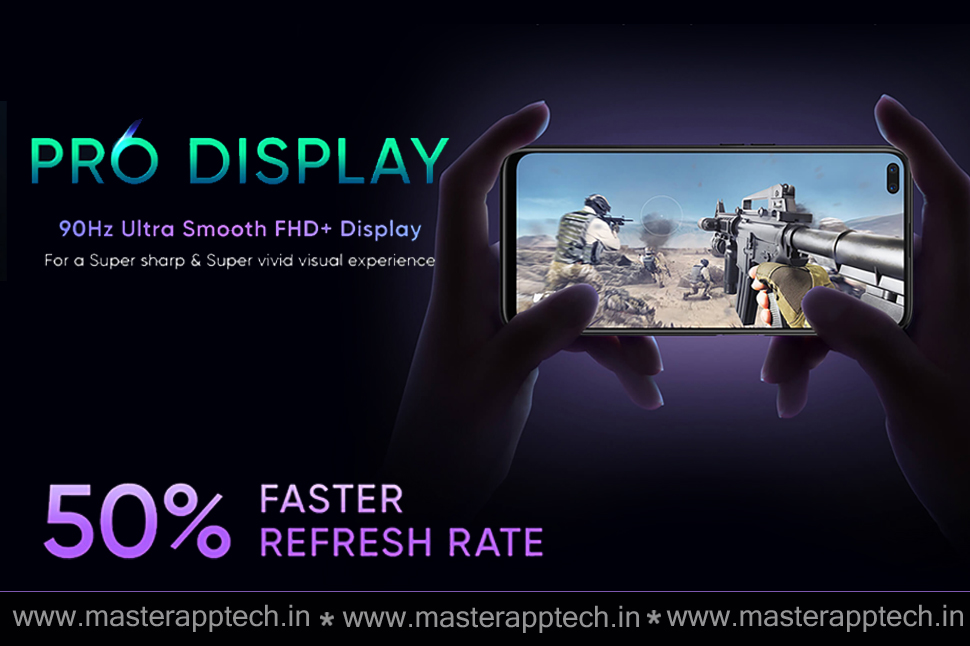 Realme 6 and Realme 6 pro display