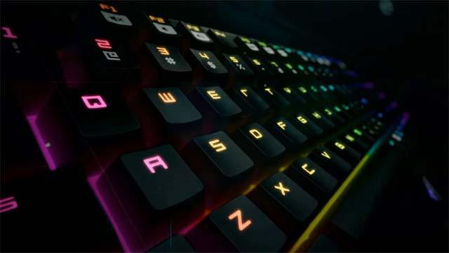 Chọn mẫu Switch bàn phím