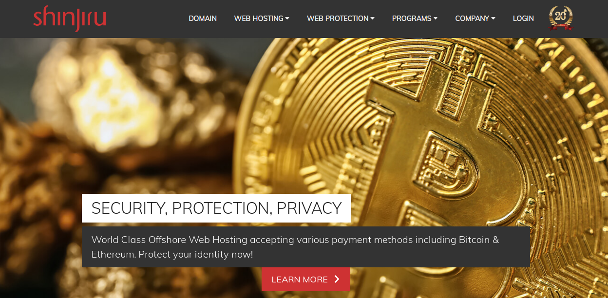 Shinjiru – Bitcoin and Ethereum payments