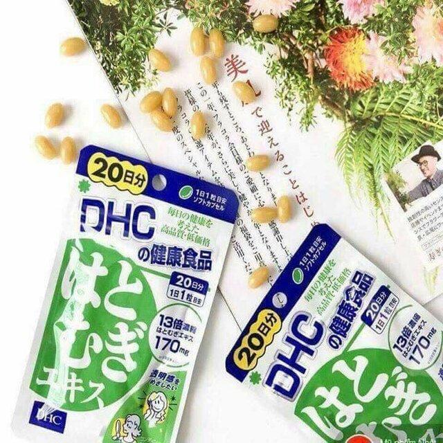 Viên uống trắng da DHC – Nhật Bản có giá thành bình dân được nhiều bạn trẻ lựa chọn