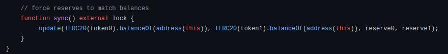 sync code