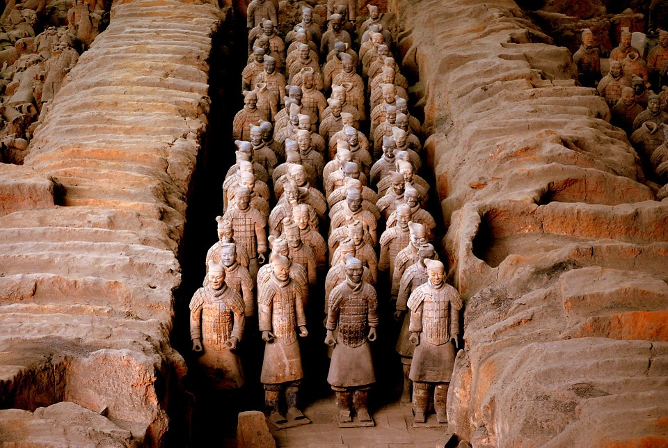 Terracotta, Warrior, China