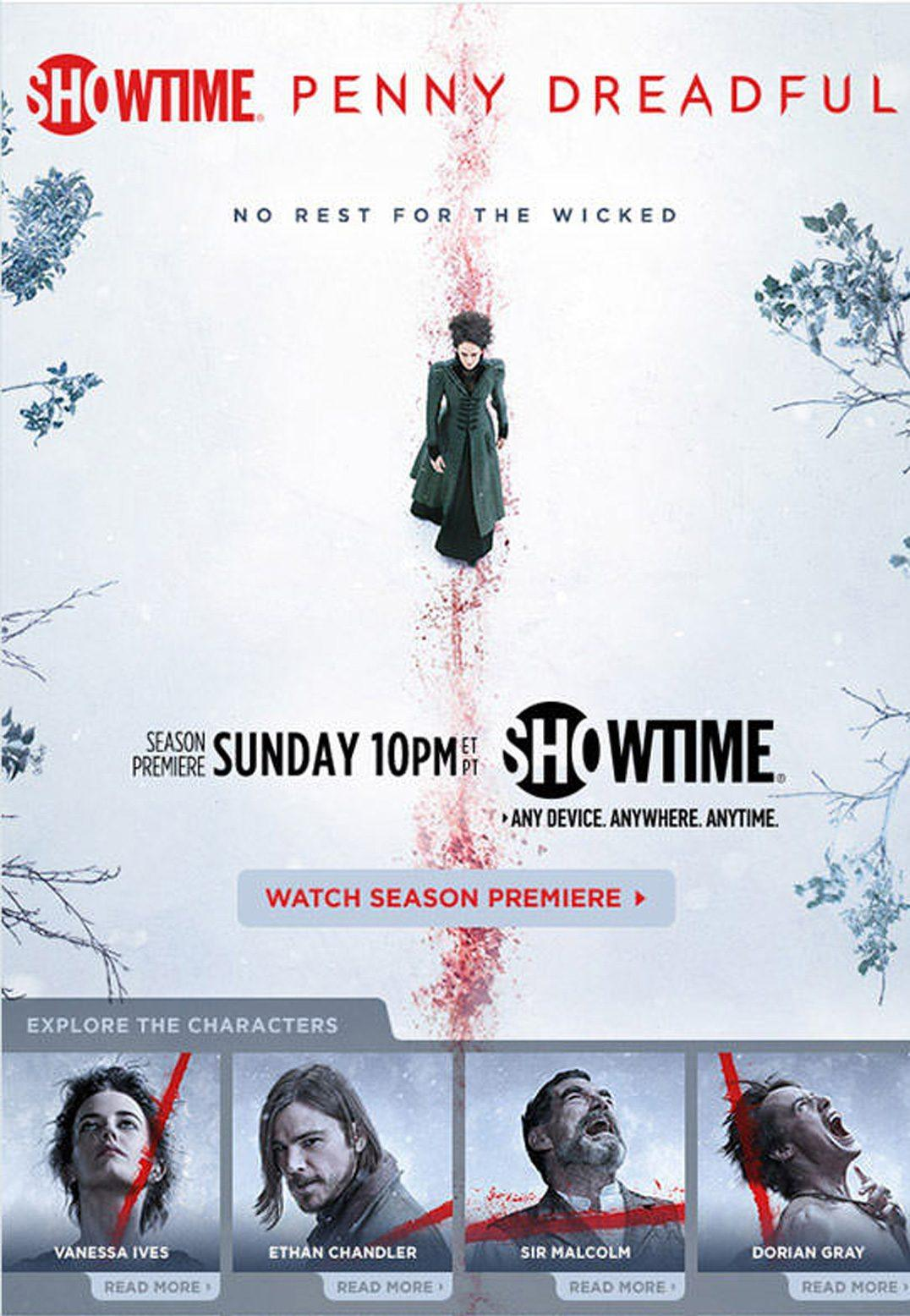 Take this example from Showtime and their promotion of the show Penny Dreadful. The show is set to premiere on a given Sunday at 10 p.m., so if they started sending out messages on Friday at 8 p.m., the email message could easily be missed over thanks to the weekend, and the user stands a higher chance of missing out on the season premiere.