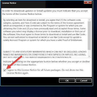 Windows and Lenovo Update Guide