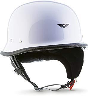 Moto Jet-Helm Braincap Bobber Halbschalen