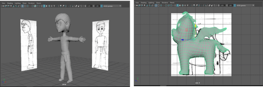 3D modeling example