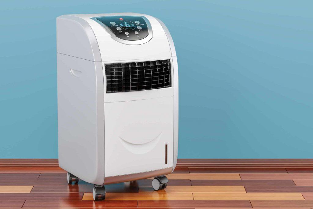 Um climatizador.