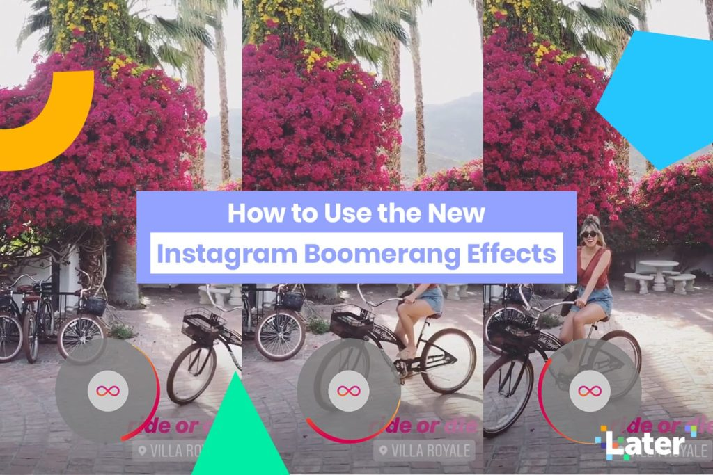 How to use the Boomerang effect on the new Instagram