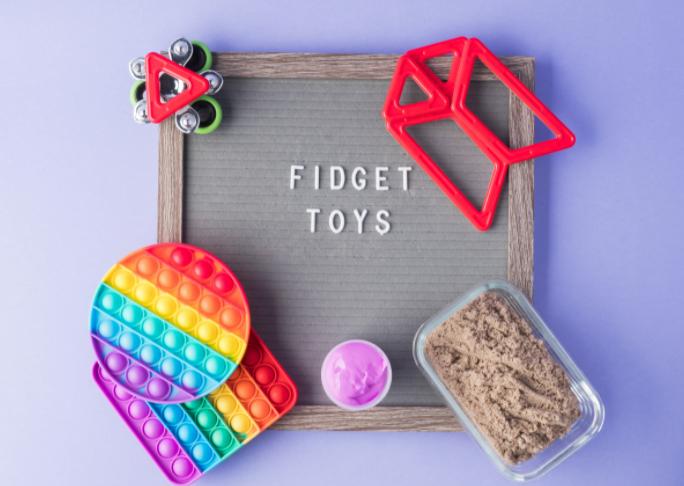 troca de fidget toys