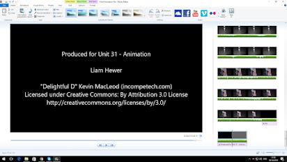 Unit 31 - Animation - Liam Hewer's ICT BTEC Level 3