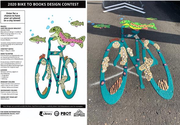 2020 Bike to Books Winner