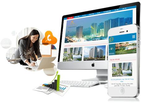 App mobile giao dịch bất động sản giao diện dễ sử dụng