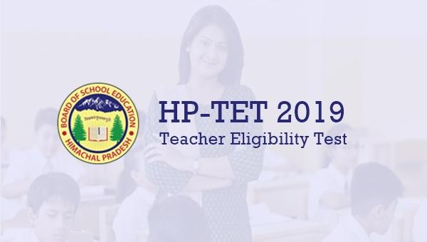 HP TET 2019 Online Form