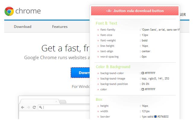 CSS Viewer Chrome Extension