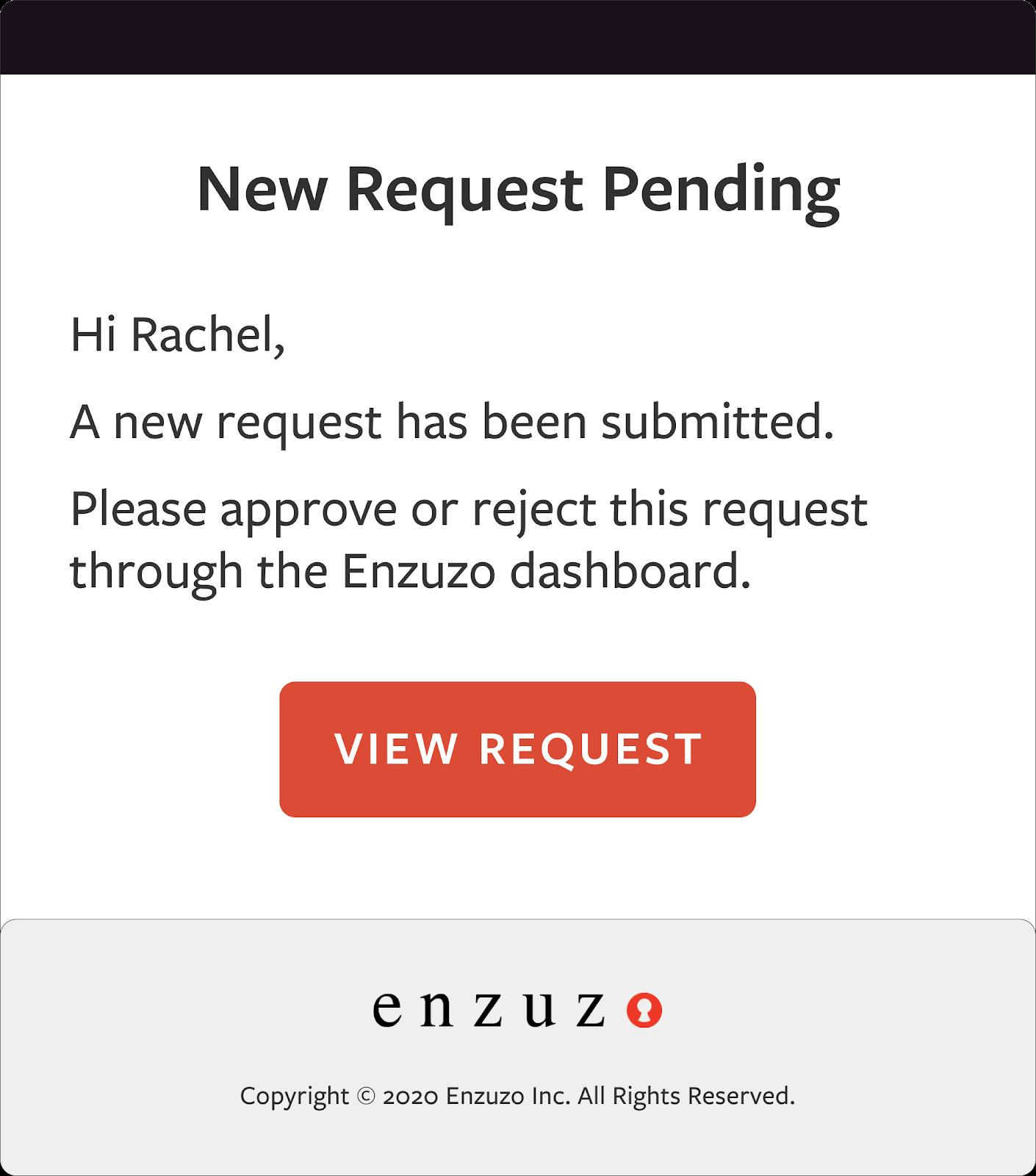 data privacy request