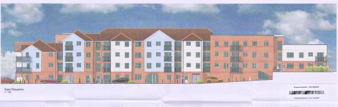 Exmouth From the planning application - an artist's impression of the proposed building.