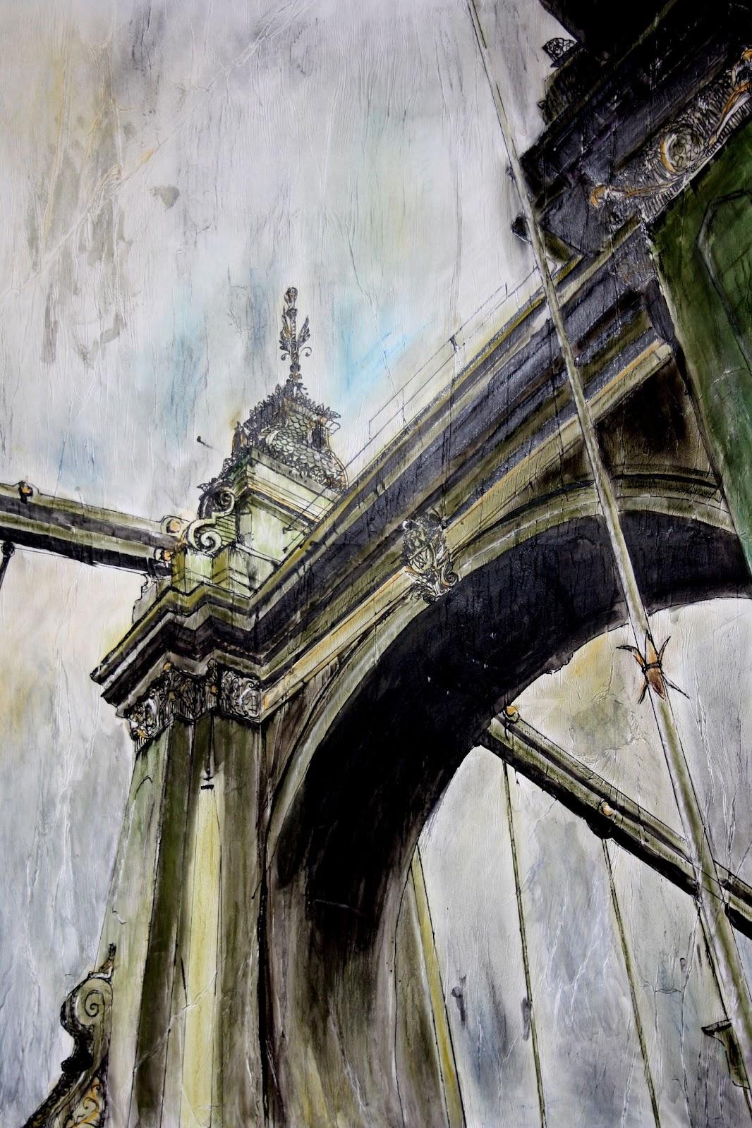 art juliana Hammersmith bridge