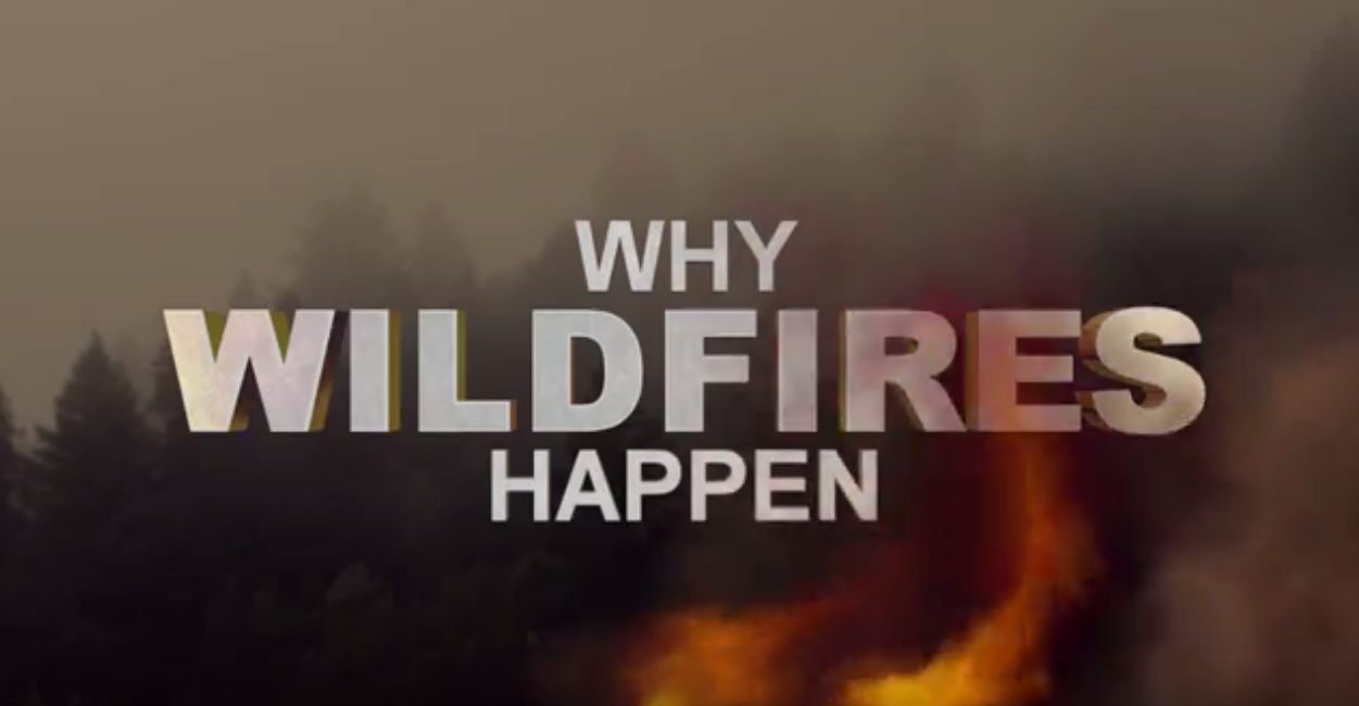 Stay informed of wildfire threats