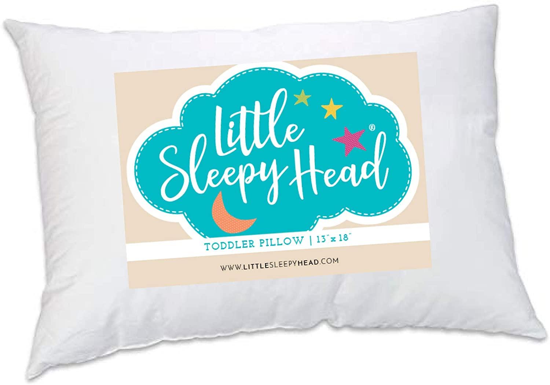 Sleepy Little Head Toddler Pillow